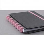 Disco + Elástico Rosa Sertão - Acessório Caderno Intelogente