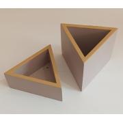 Porta Canetas Triangular