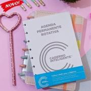 Refil Agenda Permanente Único A5 c/100 folhas - Caderno Inteligente