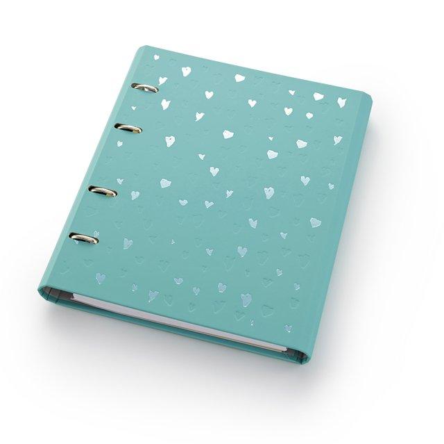 Caderno e Fichário Romantic - tamanho ULTRA - Otima