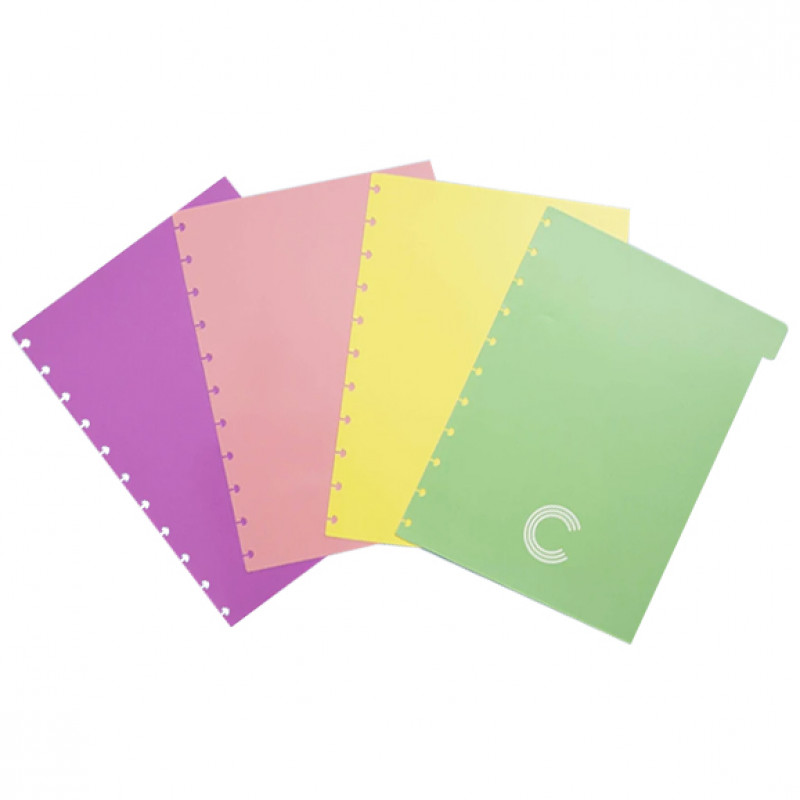 Caderno Inteligente - Acessório Divisórias Pastel Grande