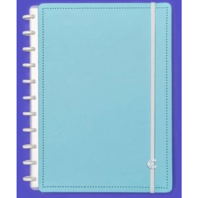 Caderno Inteligente Grande All Blue - 80 Folhas