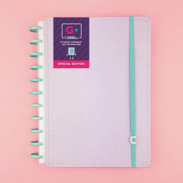 Caderno Inteligente Grande + Lalalilás - 140 Folhas 90G