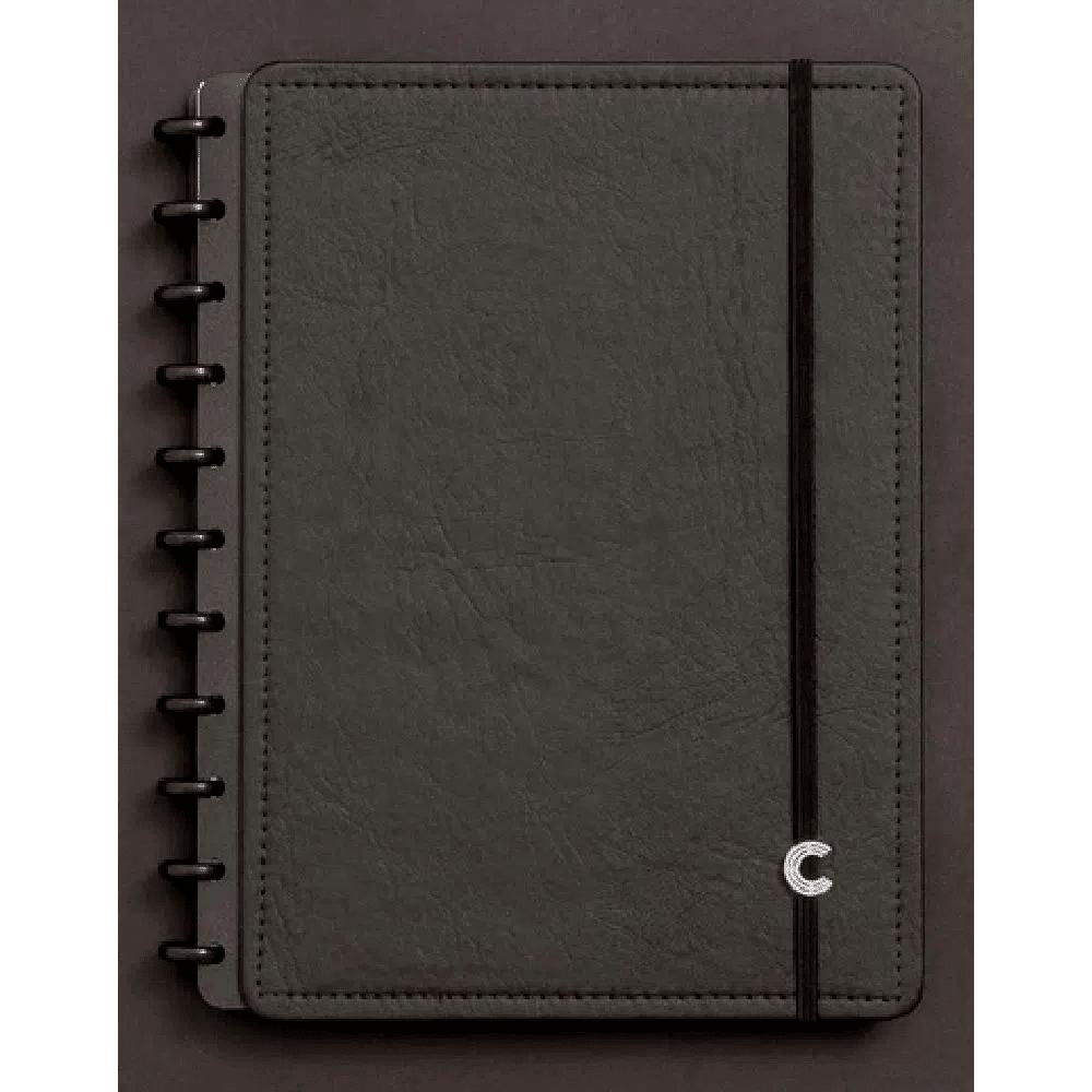 Caderno Inteligente Médio Basic Black - 80 Folhas