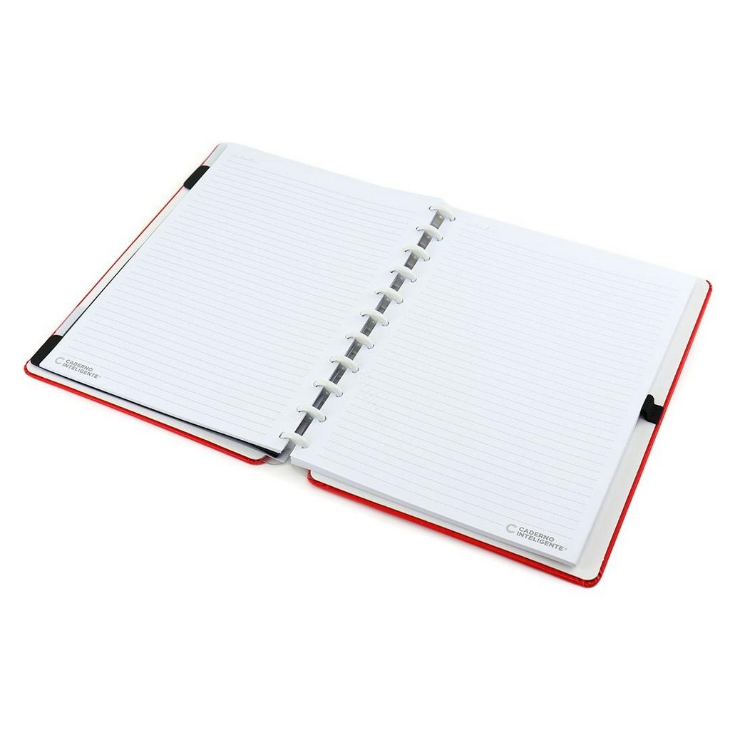 Caderno inteligente Vermelho Cereja Médio