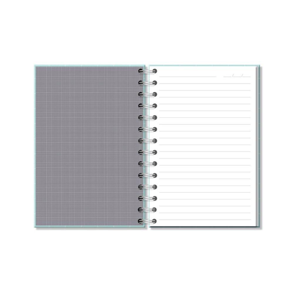 Caderno médio Fazer acontecer - Fina Ideia