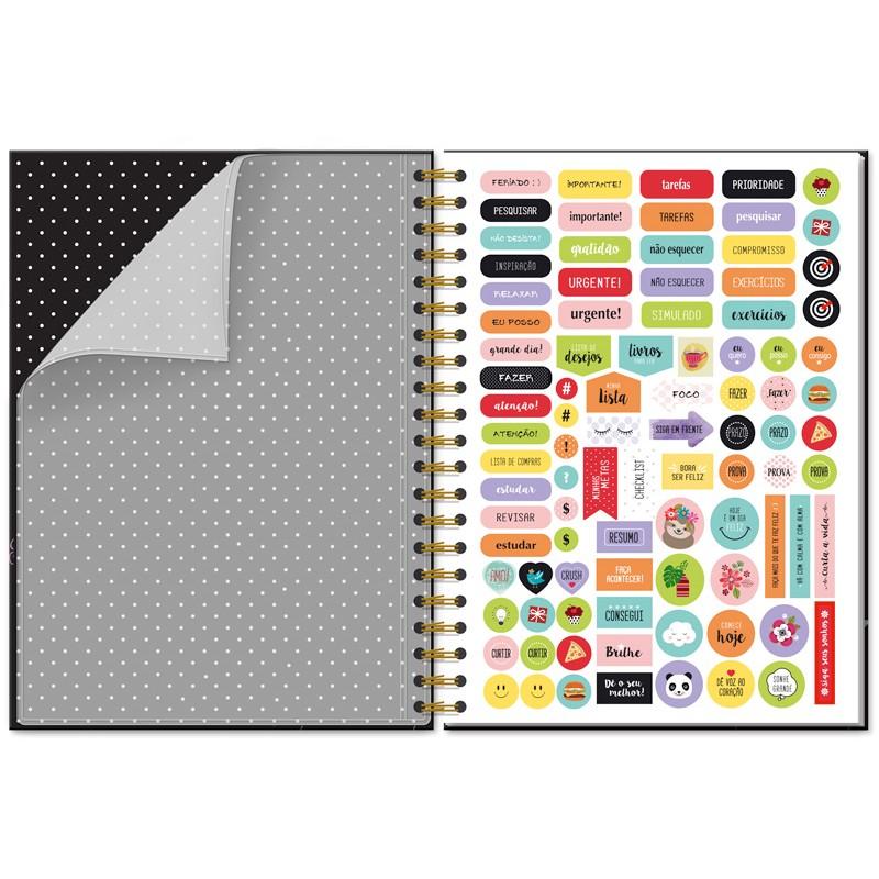 Caderno universitário 96 fls. Fiore - Fina Ideia