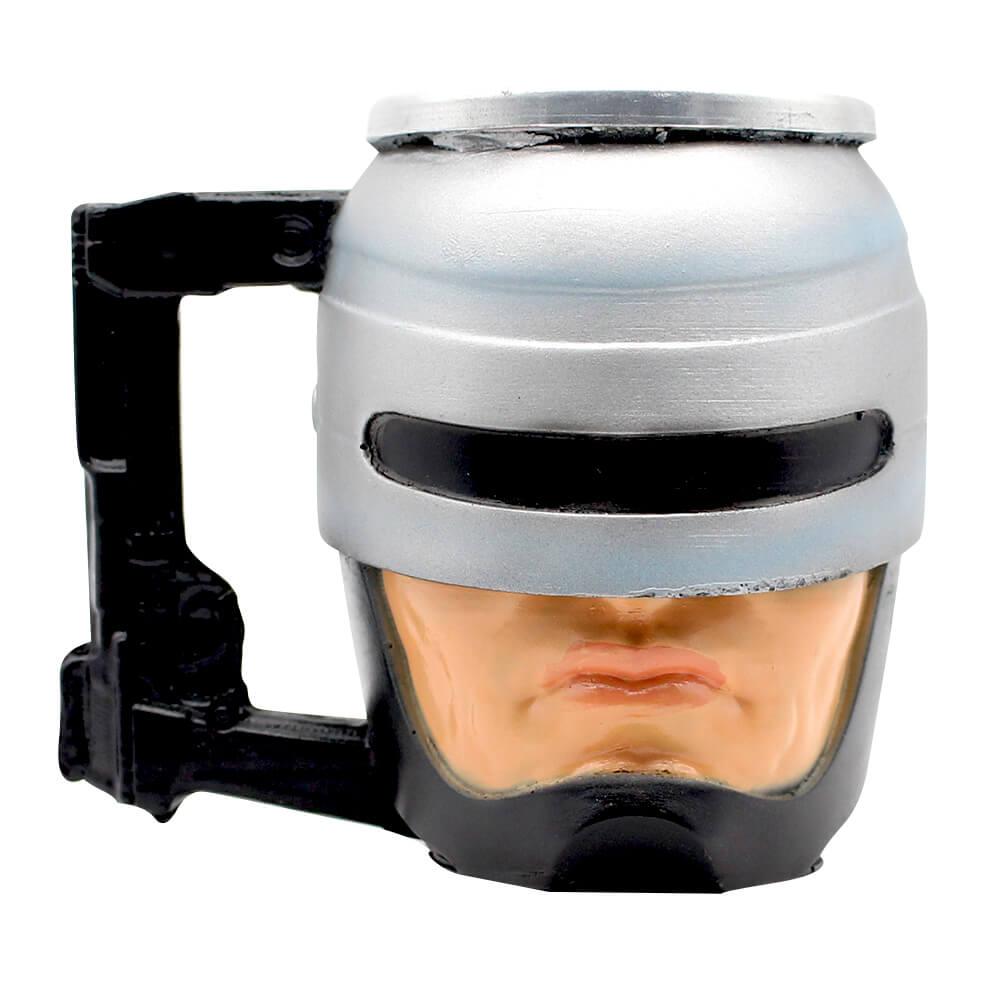 Caneca 3D Robocop O Policial do Futuro 250ml - Zona Criativa