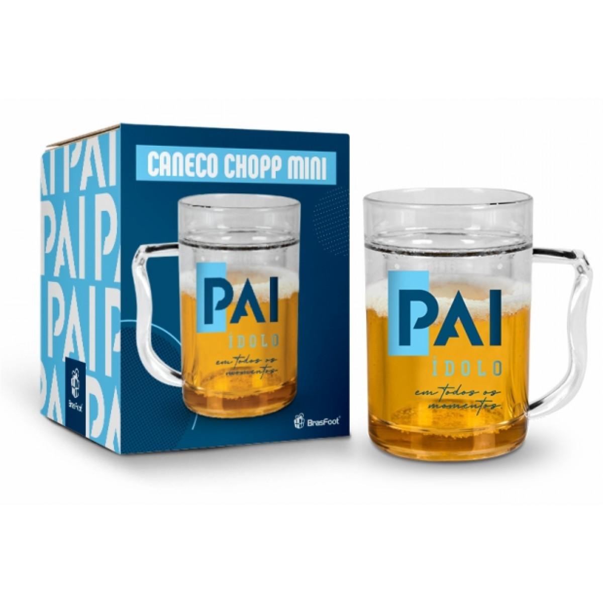 Caneca Gel Cerveja 200ml Pai - Brasfoot