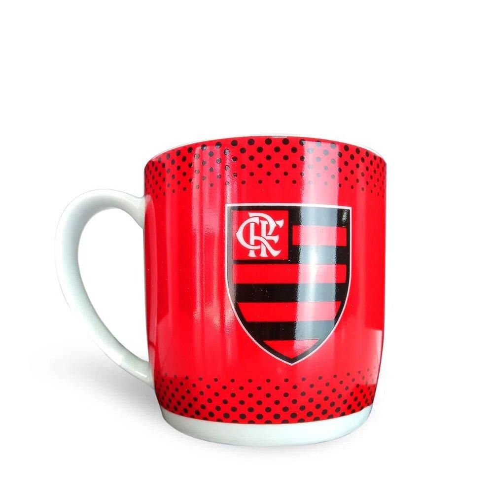 Caneca Porcelana Urban 360ML - Flamengo 2