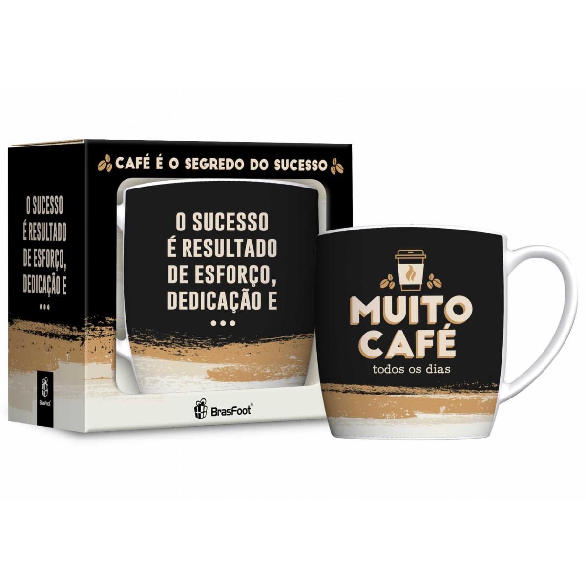 Caneca Porcelana Urban 360ML - Muito cafe