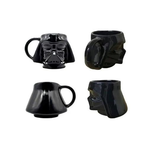 Caneca Star Wars Darth Vader Cerâmica - Zona Criativa