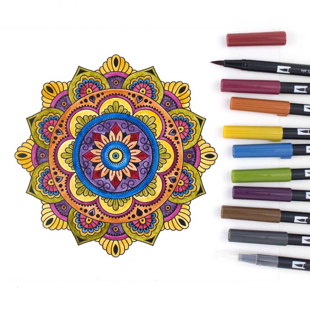 Caneta Tombow Dual Brush Pen