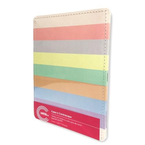 Capa e Contracapa Caderno Inteligente Arco-Íris