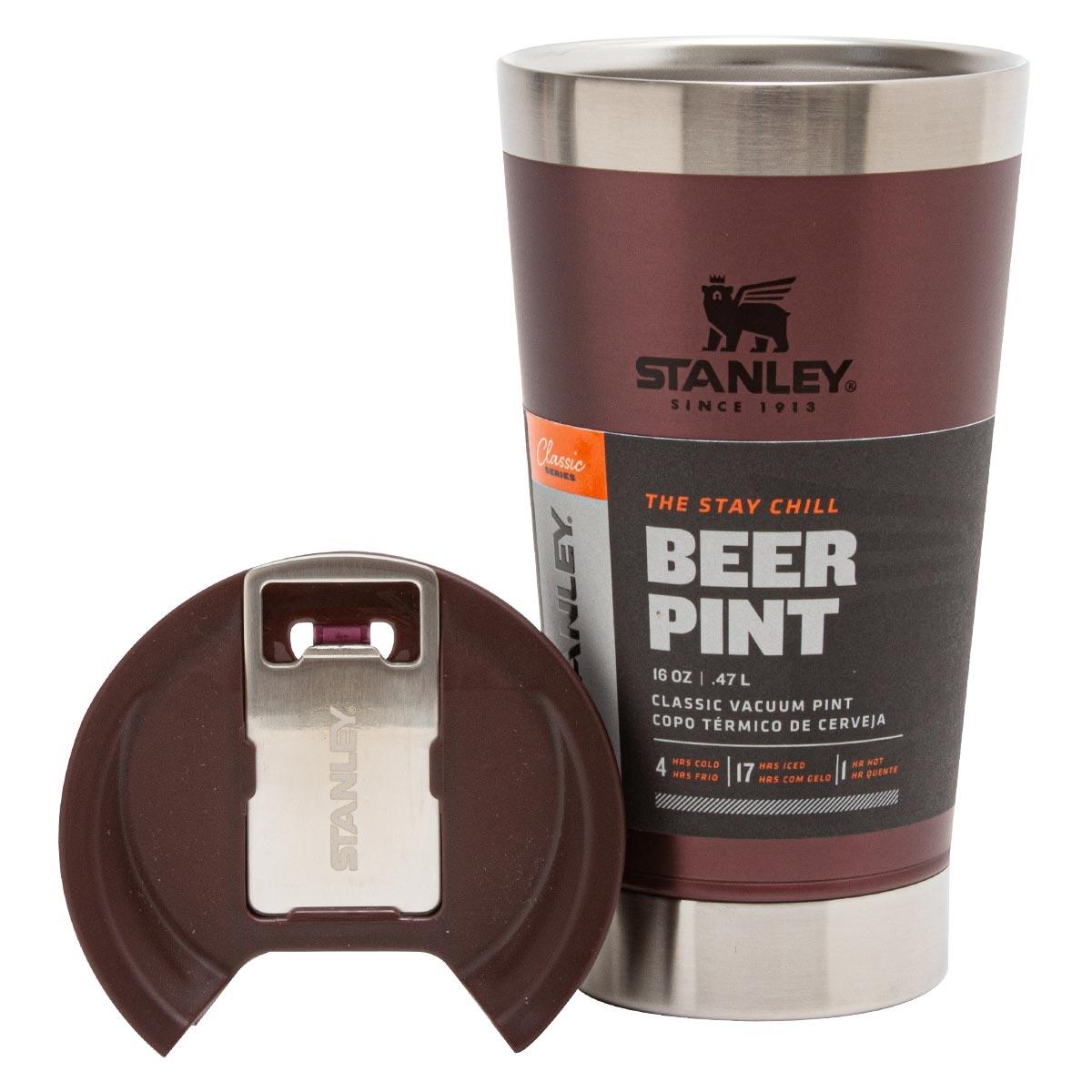 Copo Térmico de Cerveja (com tampa)   473ML STANLEY
