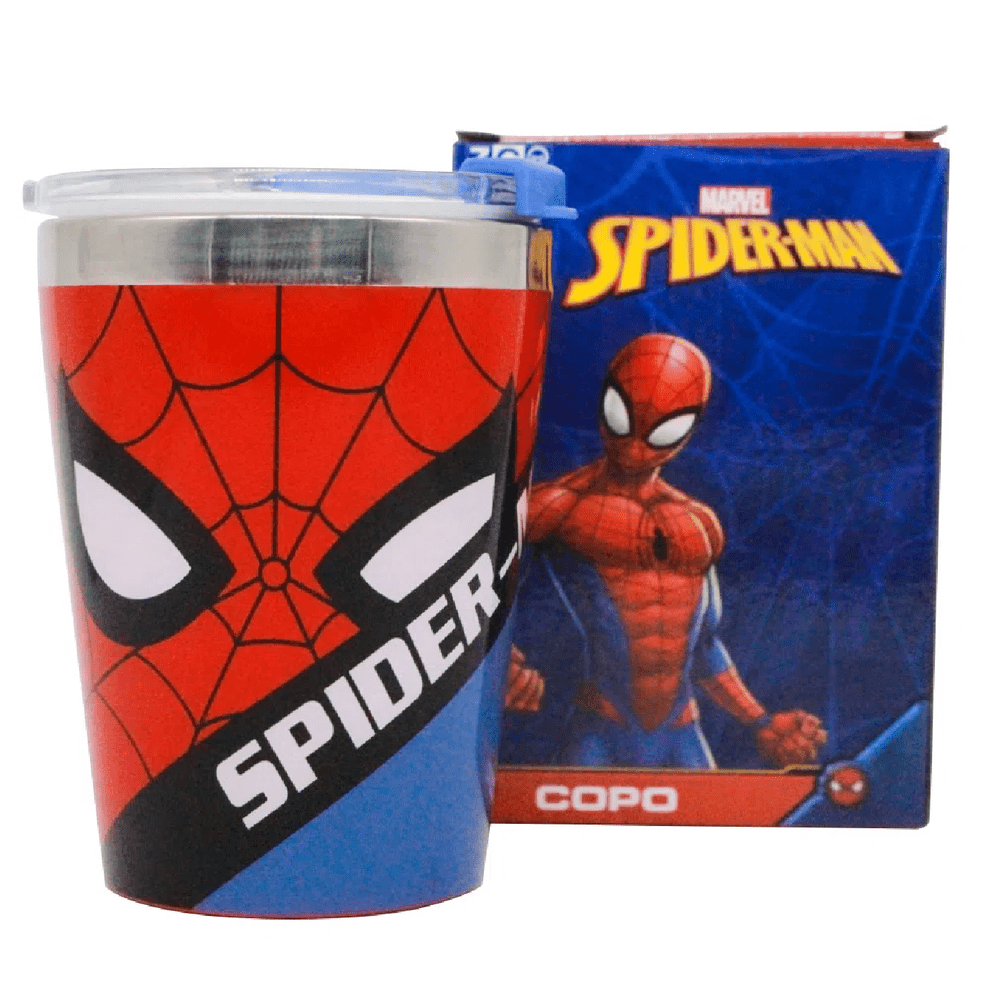 Copo Viagem Snap Spider Man