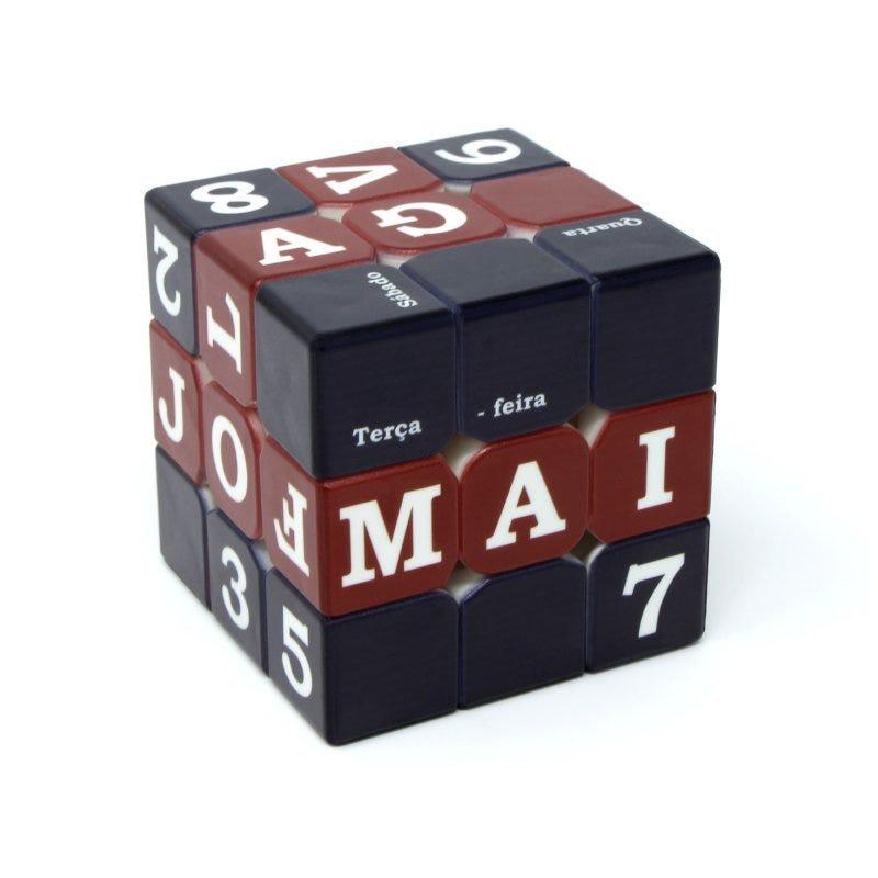 Cubo Magico 3x3x3 Profissional Versão Calendário - Fellow Cube