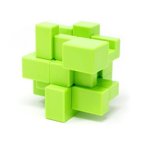Cubo Mágico Profissional 3x3 Cuber Pro Blocks Verde - Cuber Brasil