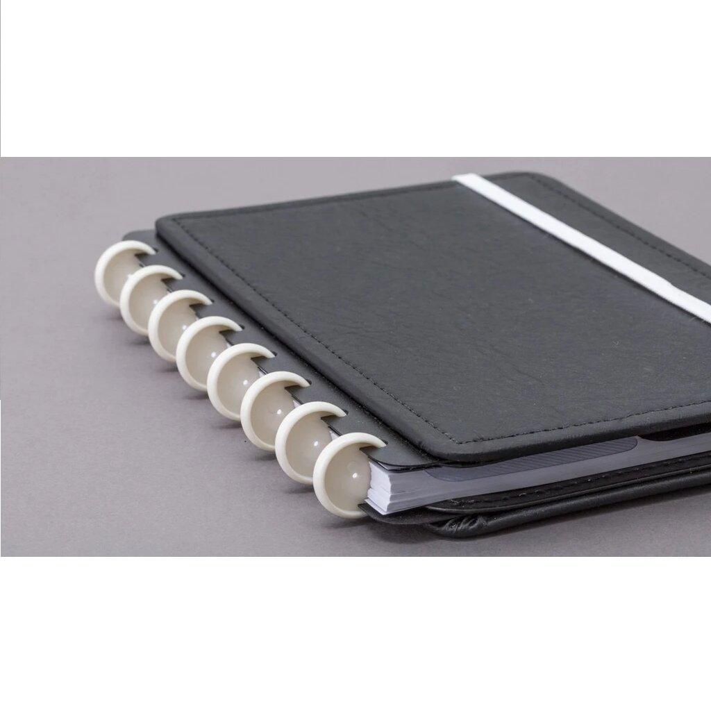 Discos + Elástico Branco - Acessório Caderno Inteligente