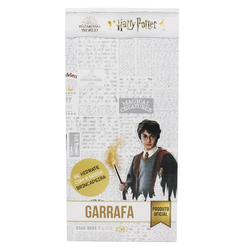 Garrafa Jumbo Hogwarts Harry Potter 1 Litro