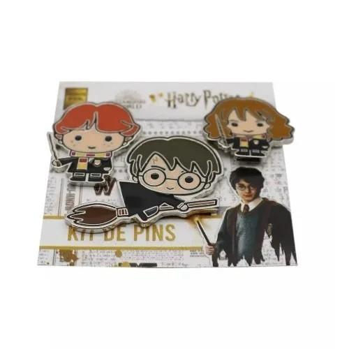 Jogo De Pins Harry Potter® - 3Pçs - Zona Criativa