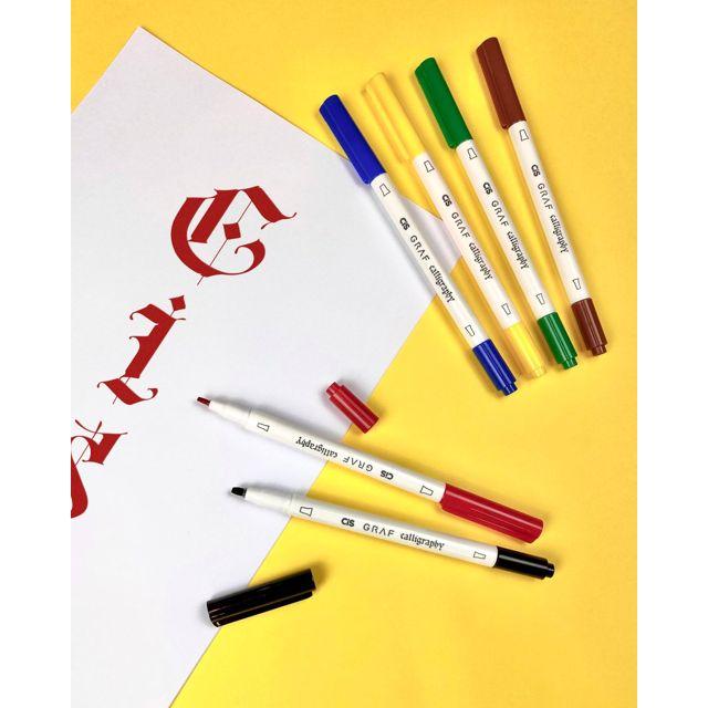 Kit Caneta Cis Art Graf Calligraphy