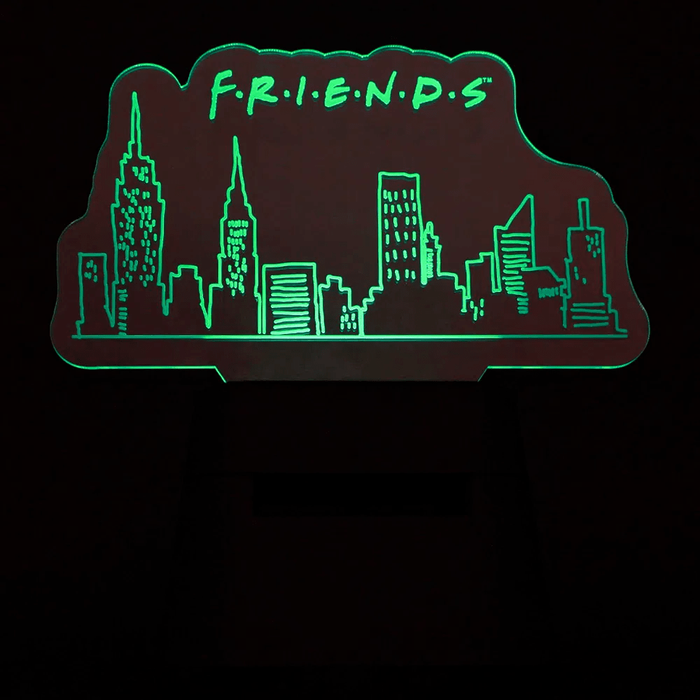 Luminária Speaker Central Perk Friends - Zona Criativa