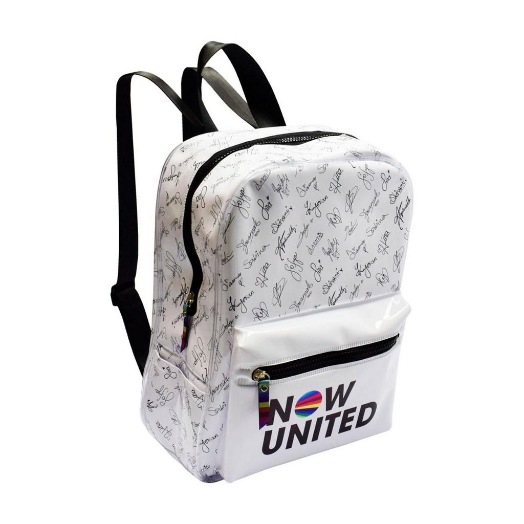 Mochila Now United branca- DAC