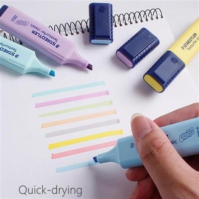 Pincel Marca Texto Textsurfer Classic Estojo c/4 cores Tons Pastel - Staedtler