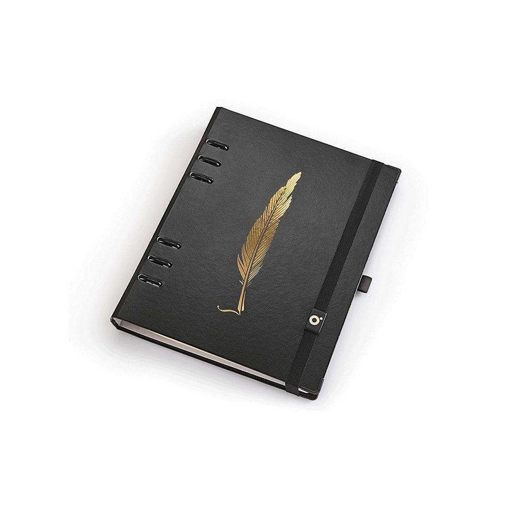 Planner A5 Ótima Gráfica Caderno Organizador Noir Pena