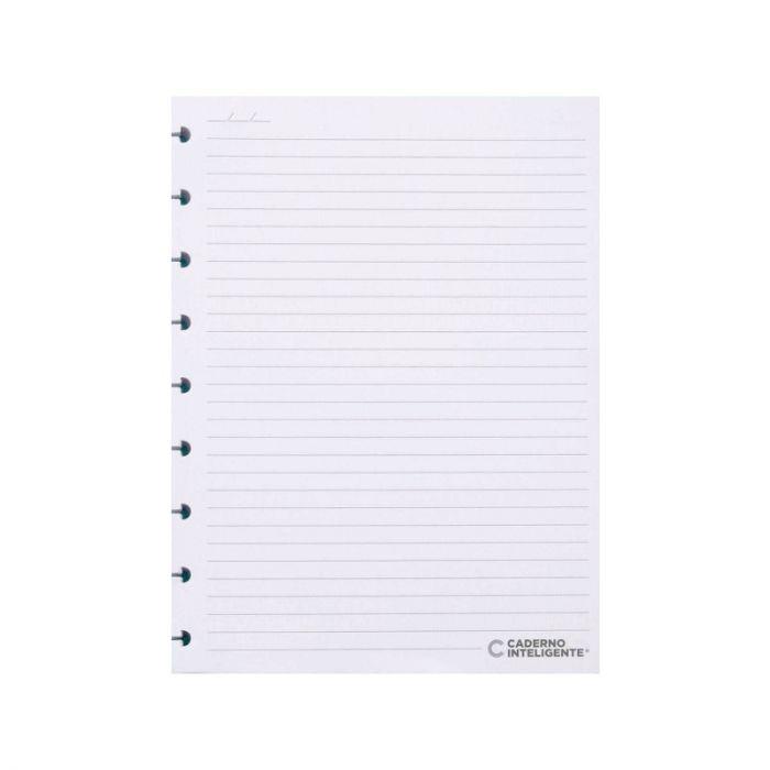 Refil Caderno Inteligente Pautado Médio 90G c/90 folhas