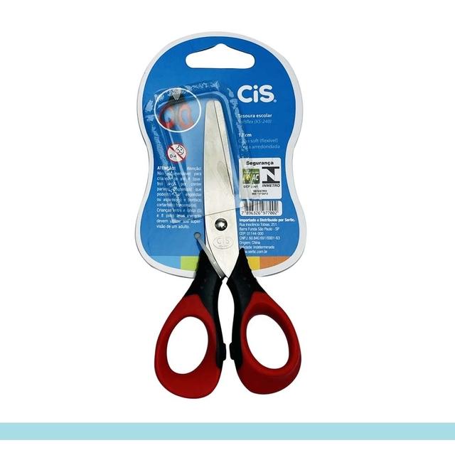 Tesoura Escolar Softflex KS-240 - CiS