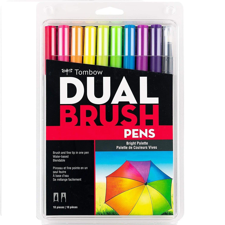 Tombow Dual Brush Pens c/ 10 unds Cores