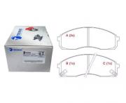 Pastilha de freio dianteira - Hyundai HR 2.5 2006 até 2020.