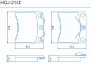 Pastilha de freio dianteira - VW Caravelle 1990 até 2003, Eurovan 1993 até 2003, Transporter 1990 até 2003