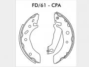 Sapata de freio - Ford Fiesta, Ka, Chevrolet Celta, Prisma