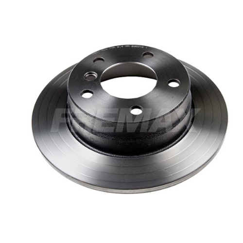 Disco de freio traseiro sólido - PAR - 280mm - BMW 118i 1.6 2012 até 2015, 118i 2.0 2010 até 2012
