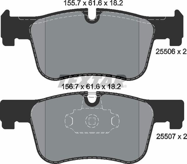 Pastilha de freio dianteira - BMW 118i, 120i, 316i, 320i, 420i