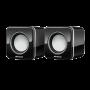 Caixa de Som 2.0 Multilaser 3W RMS Preto - SP144