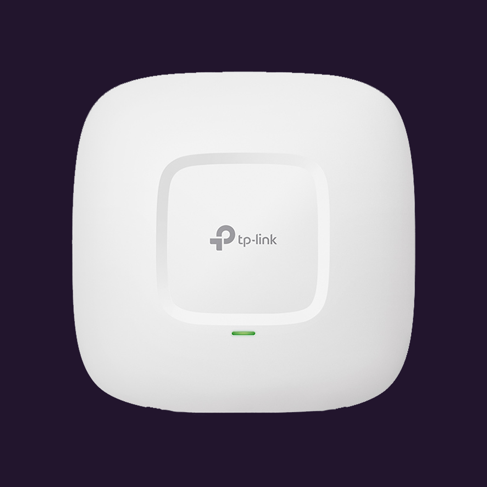 Access Point TP-Link Wireless N300 Montável em Teto - EAP110