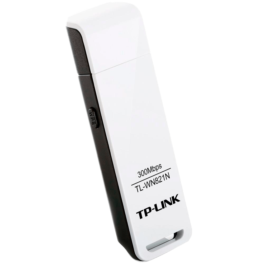 Adaptador Wireless TP-Link TL-WN821N USB 300M