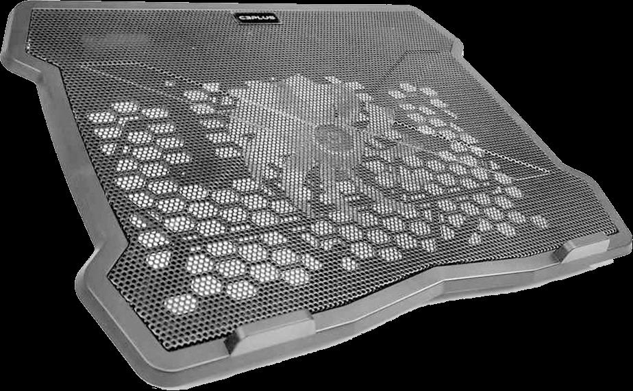 Base para Notebook C3Tech, com Cooler, Preto - NBC-01BK