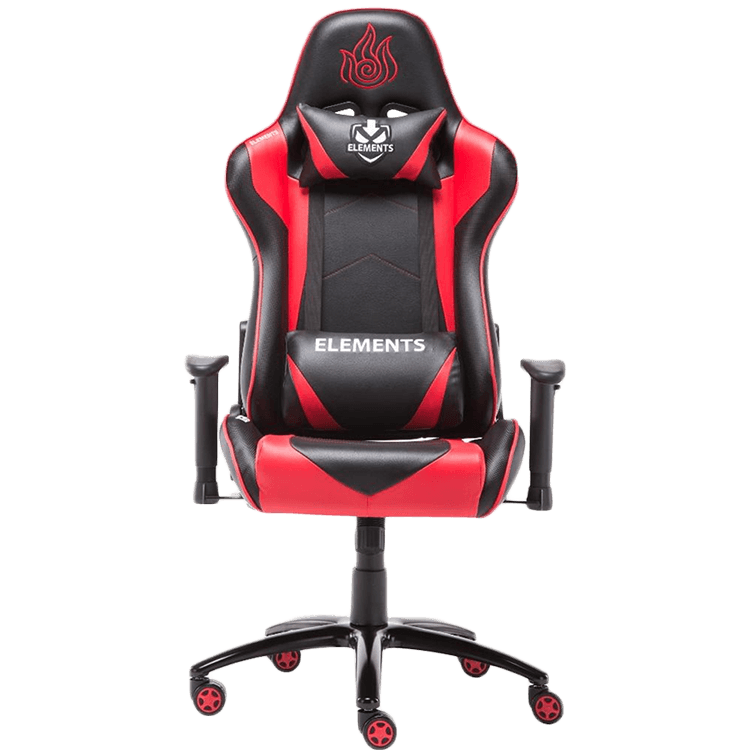Cadeira Gamer Elements Gaming  Ignis Black/Red - 63548