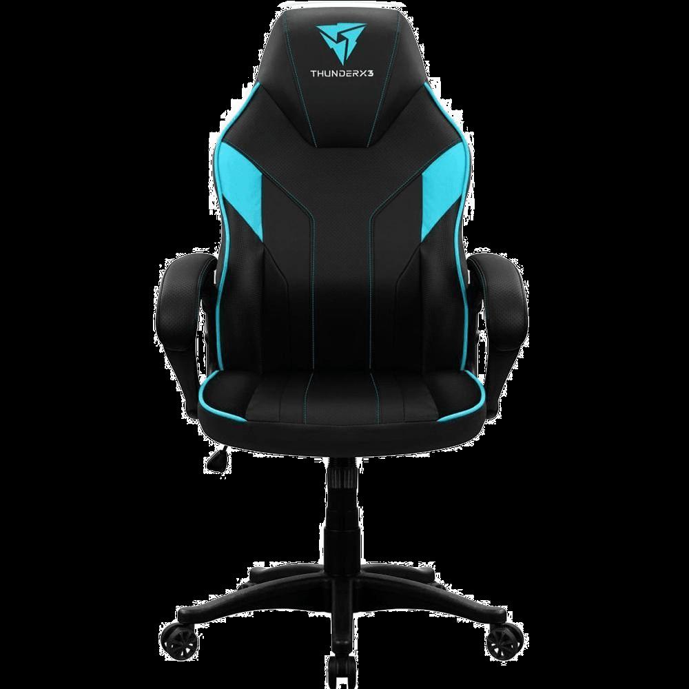 Cadeira Gamer Thunderx3 Ec1 Giratória Ciano