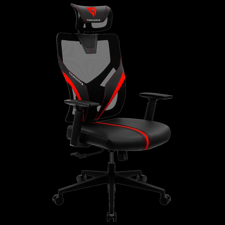 Cadeira Gaming Thunder X3 YAMA 1 Preto/Vermelho