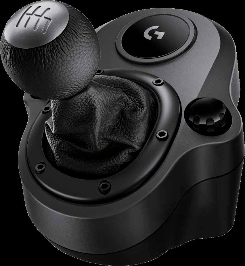 Câmbio Logitech G Driving Force - Compatível com Volantes Logitech G29 e G920 para PS4, Xbox One e PC - 941-000119