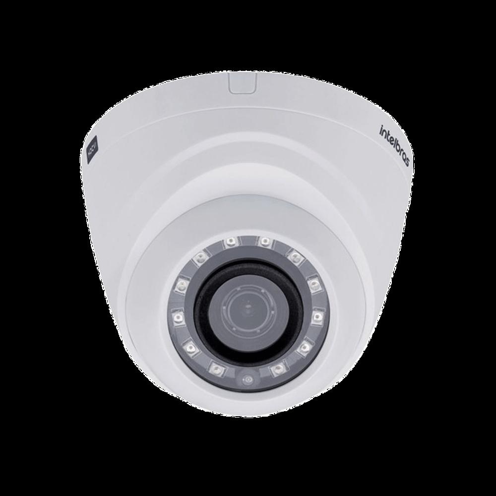 Câmera Dome Intelbras Multi-HD, Infravermelho, Lente 2.6mm, HD, IR 20m - VHD 1120 D G4