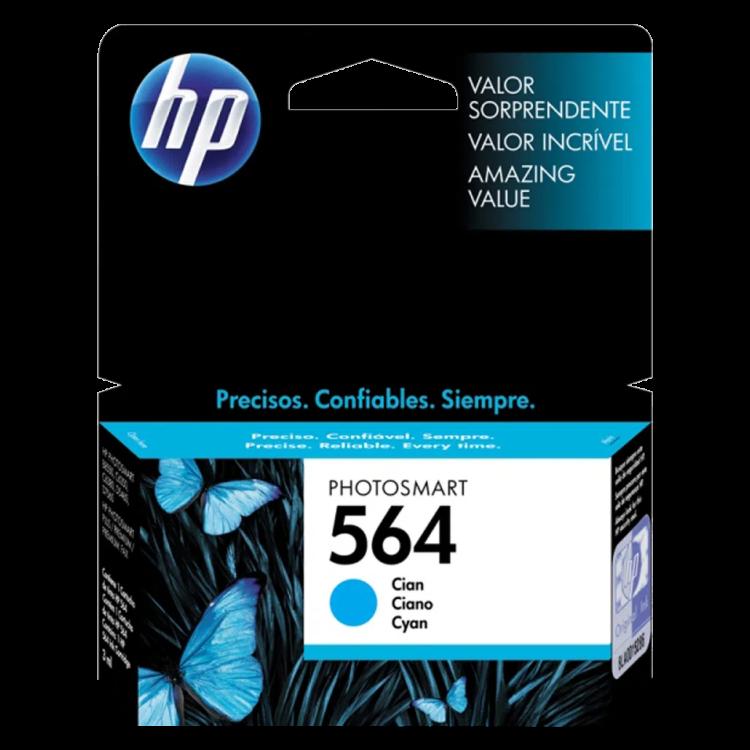 Cartucho de tinta ciano HP 564 original - CB318WL