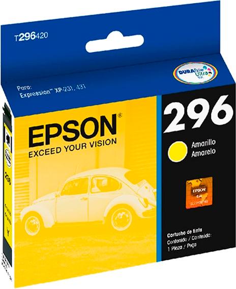Cartucho de Tinta Epson Amarelo T296420