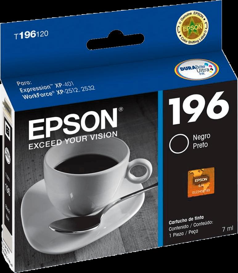 Cartucho de tinta Epson - T196120BR Preto